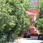 Автоматические ворота. Жилой комплекс по адресу: г.Пятигорск, ул.Советской Армии 14